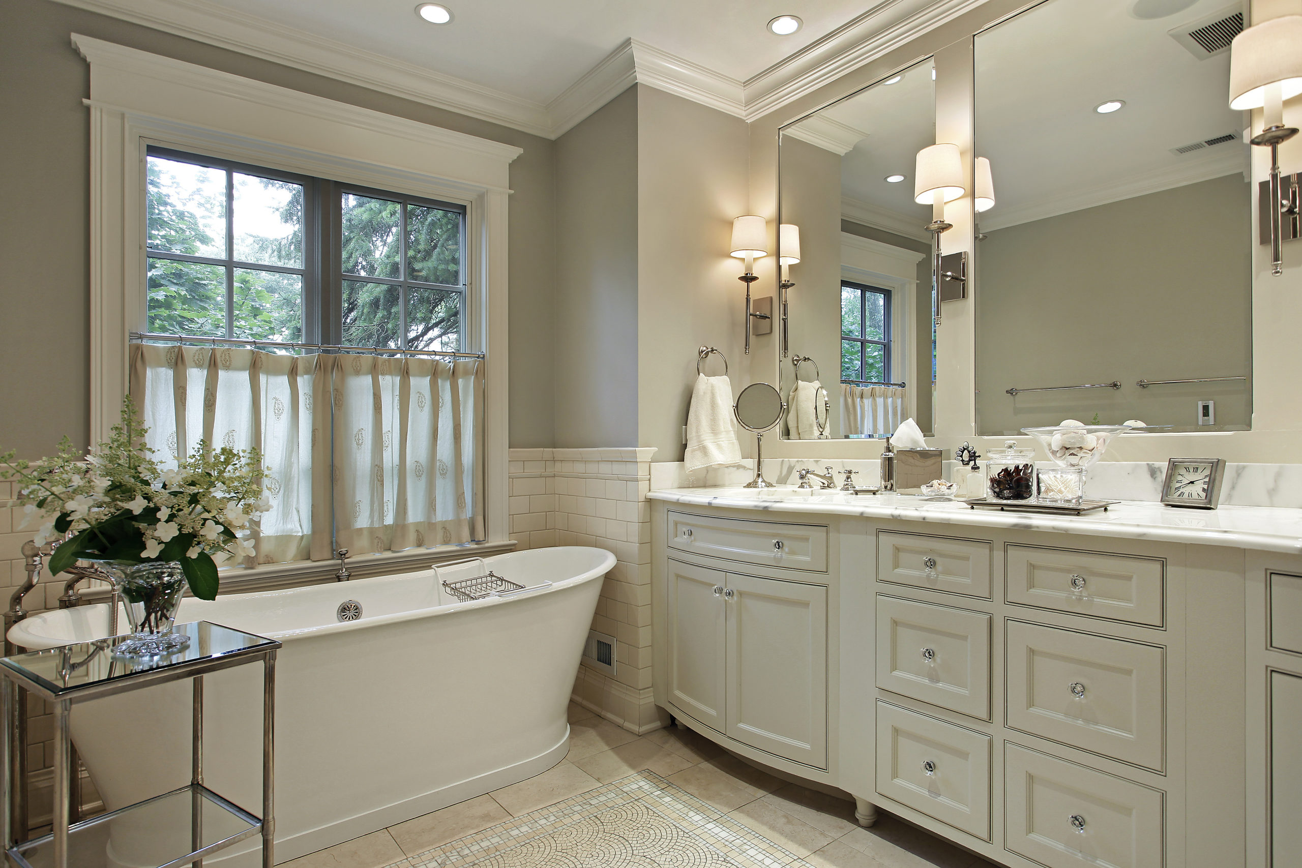 bathroom upgrade and remodel