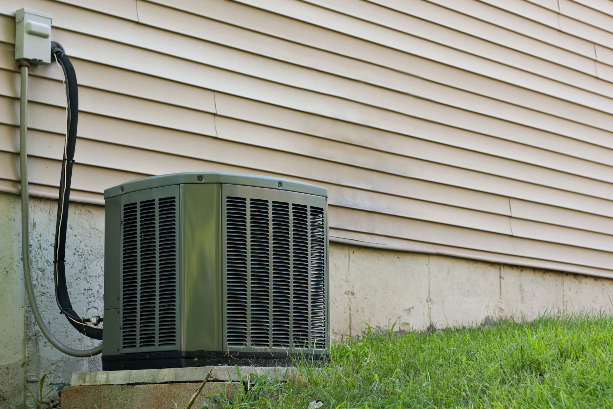 central air AC air conditioning unit