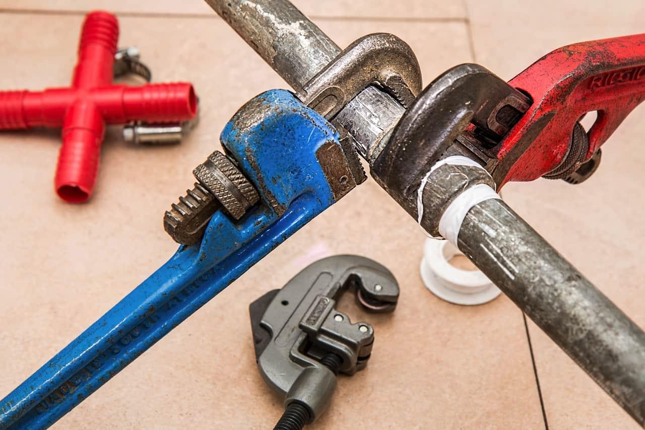 plumbing pipe work